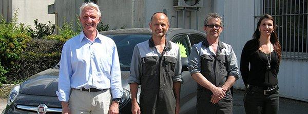 Employés du Garage Icardi
