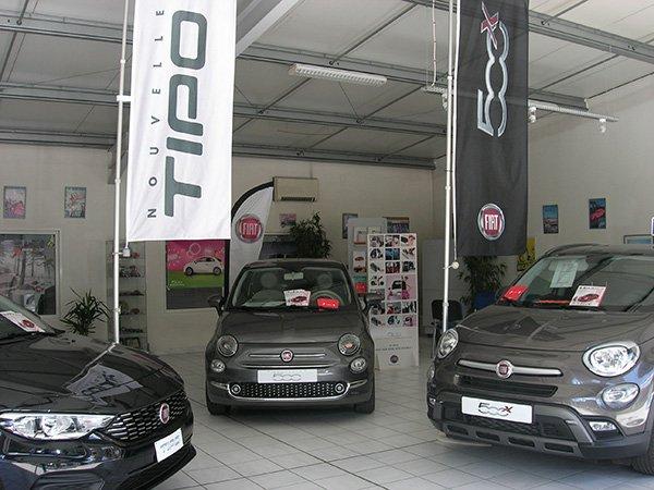 Vente véhicules Fiat